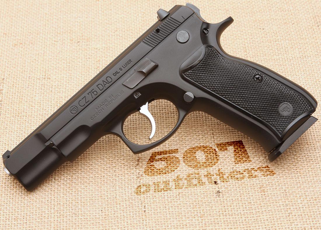 CZ 75 DAO 9mm