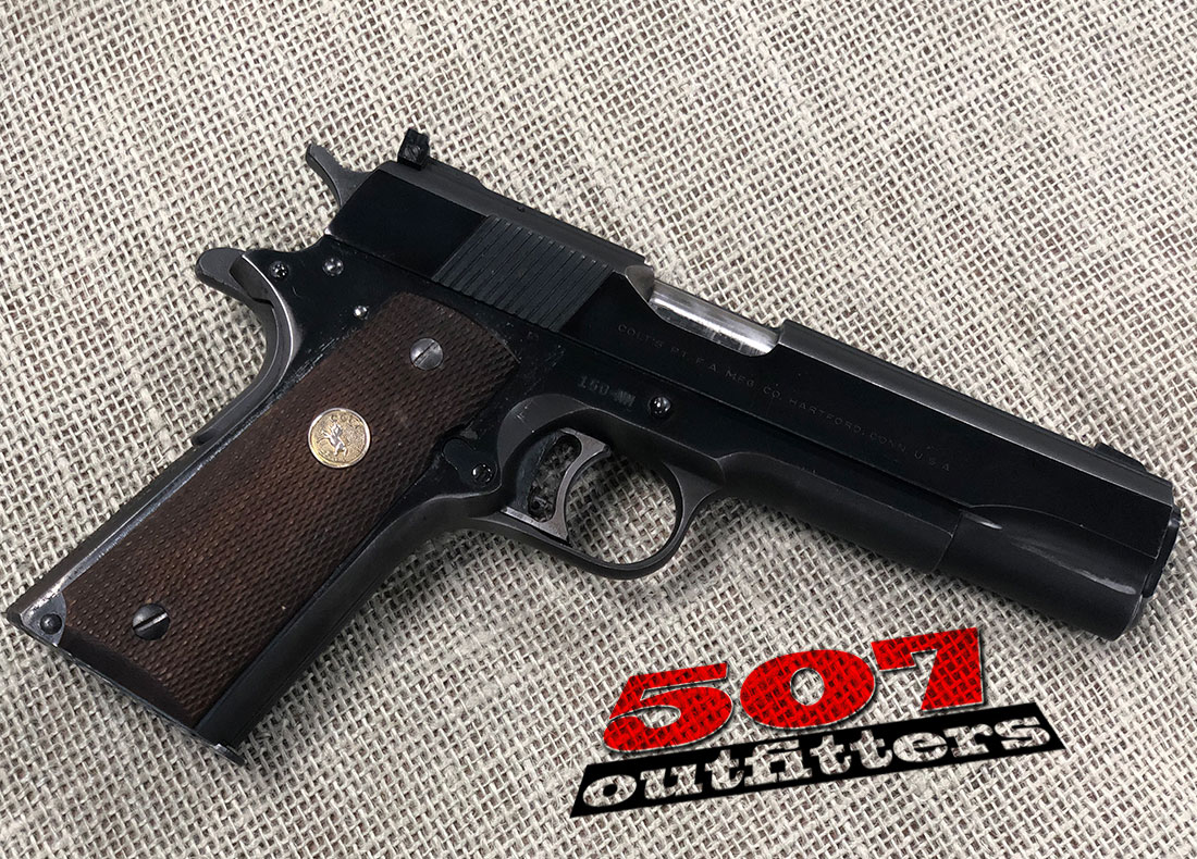 Colt National Match  45Auto – 507 Outfitters