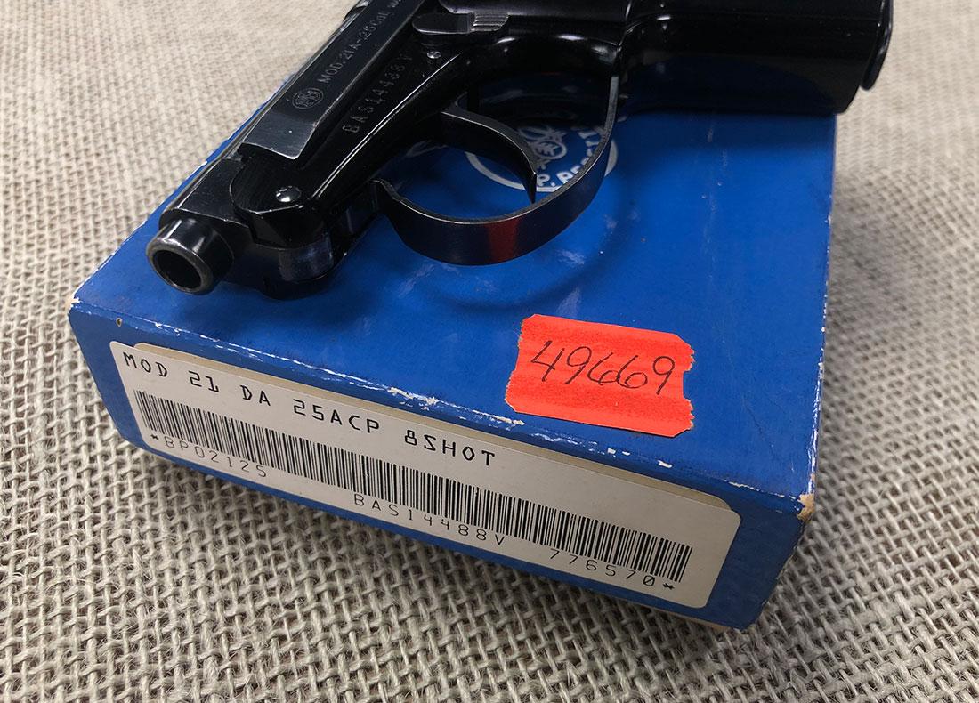 Beretta Model 21 DA – 507 Outfitters