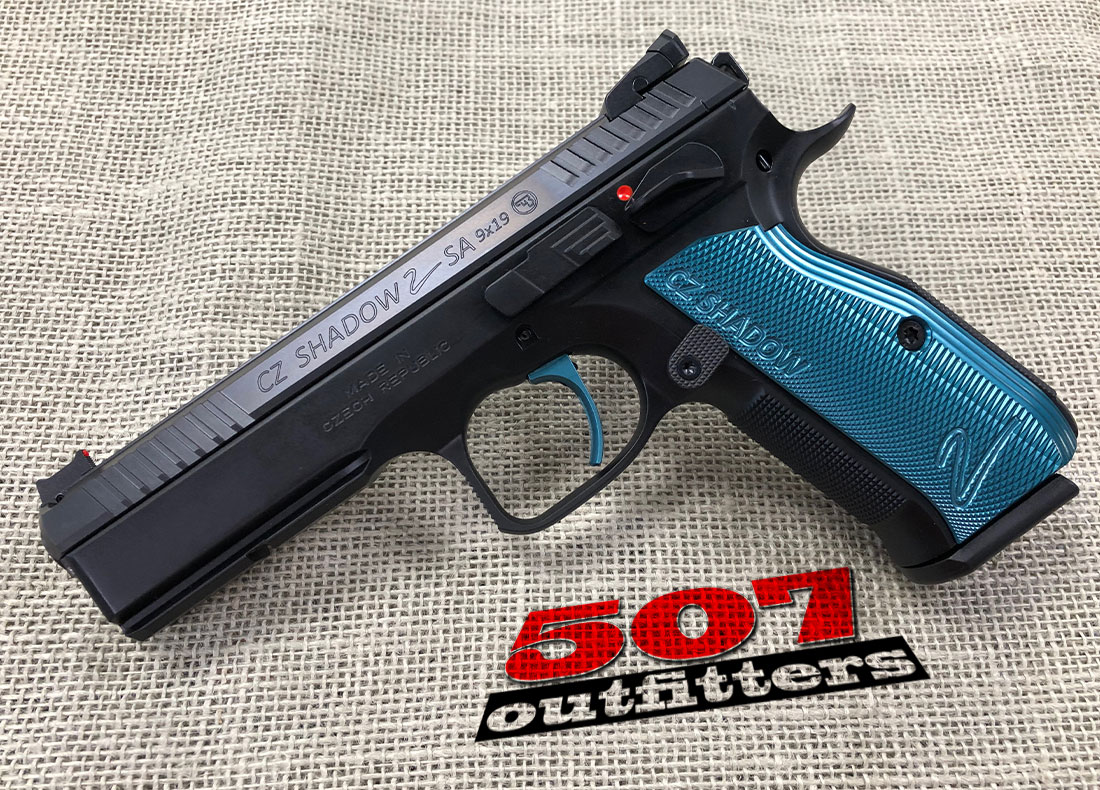 CZ Shadow 2 Black & Blue