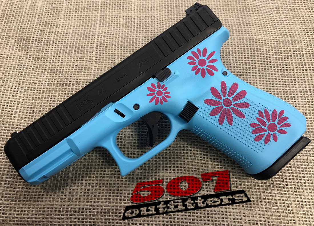 Glock 44 Pink/Blue Daisy