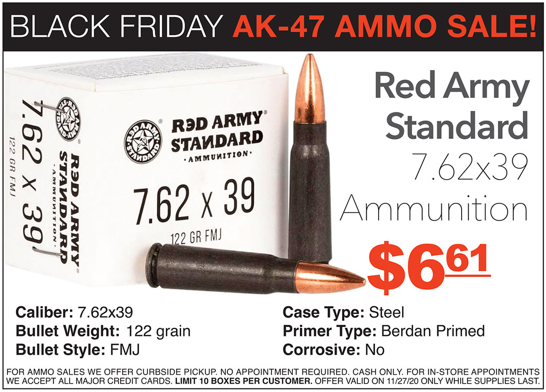 Black Friday AK-47 Ammo Sale At 507 Outfitters