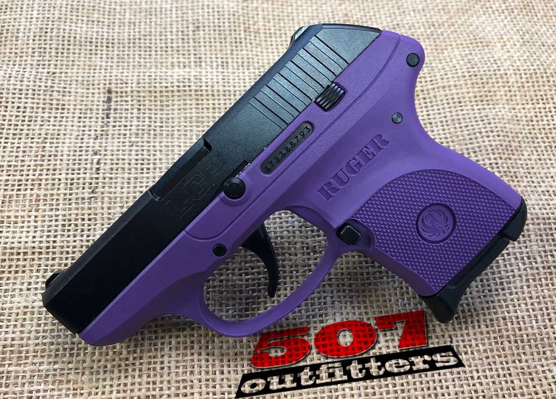 Ruger LCP II Purple