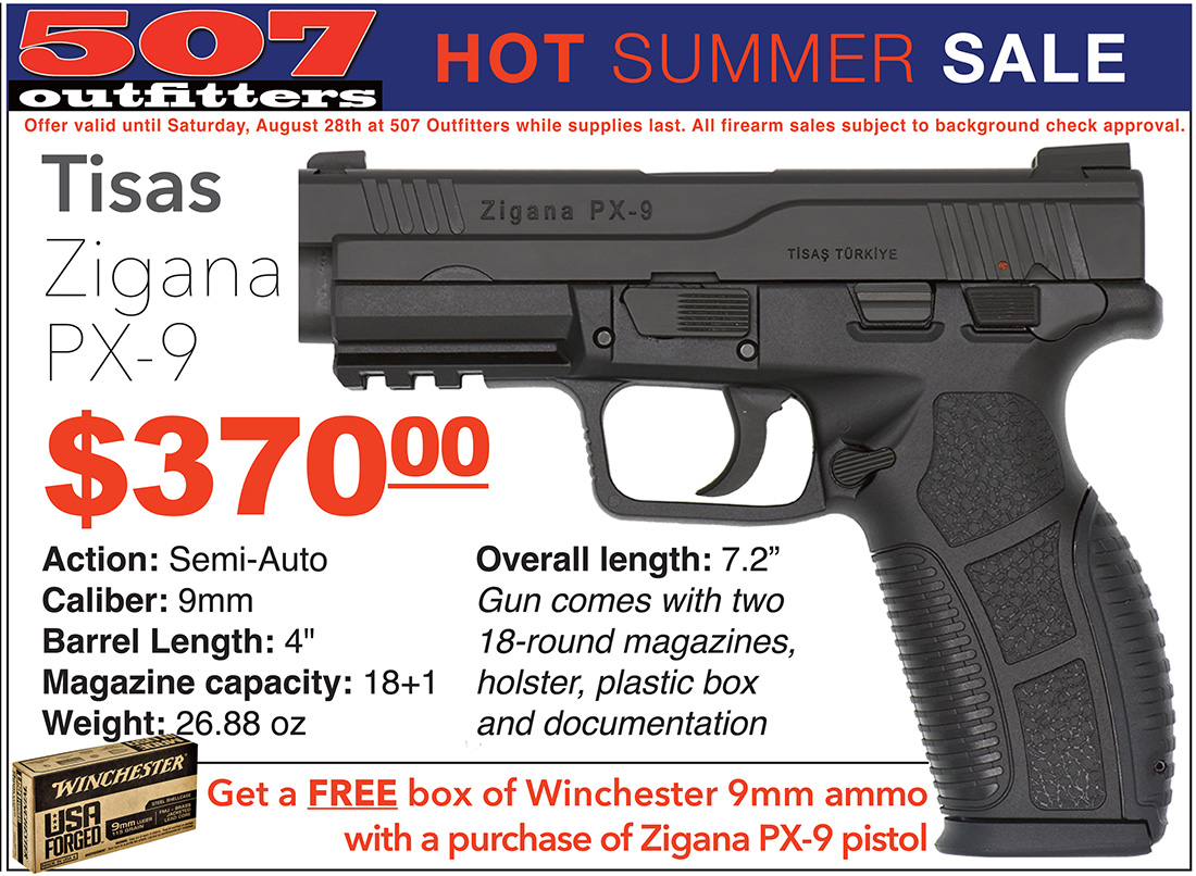 Zigana PX-9 Sale at 507 Outfitters